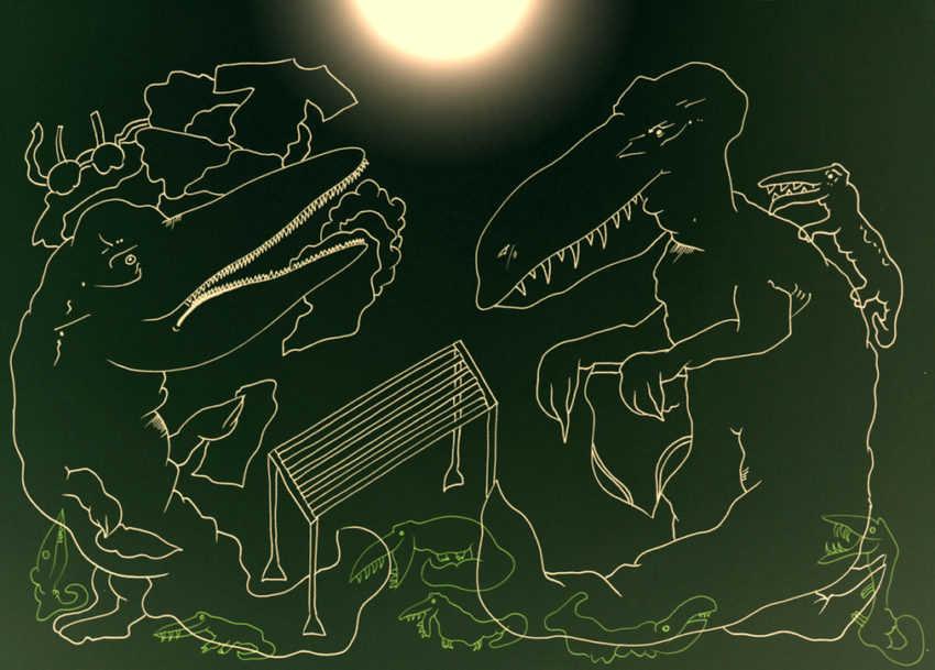 pranie krokodyla