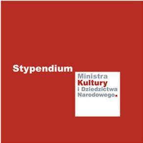 Stypendium ministra kultury logo